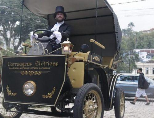 Sem cavalos, tradicionais charretes de Petrópolis agora são elétricas e com volante